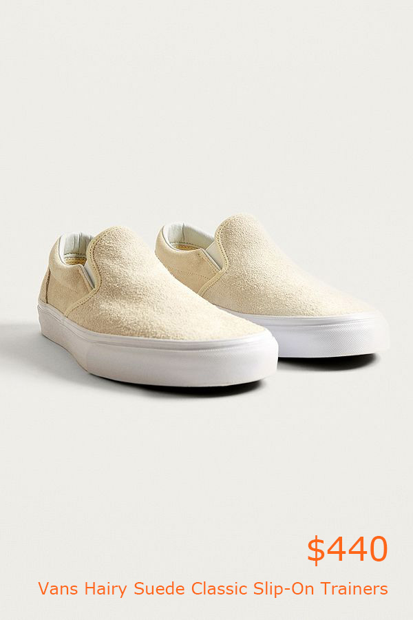 440Vans Hairy Suede Classic Slip-On Trainers