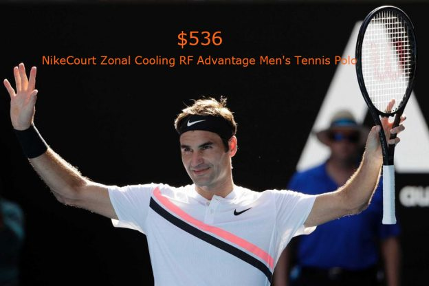 536NikeCourt Zonal Cooling RF Advantage Men's Tennis Polo