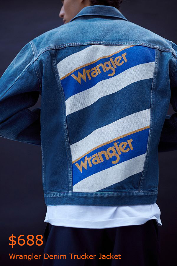 688Wrangler Denim Trucker Jacket