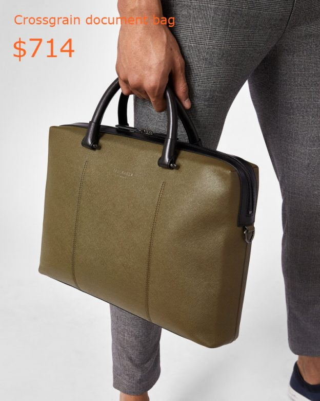 714Crossgrain document bag