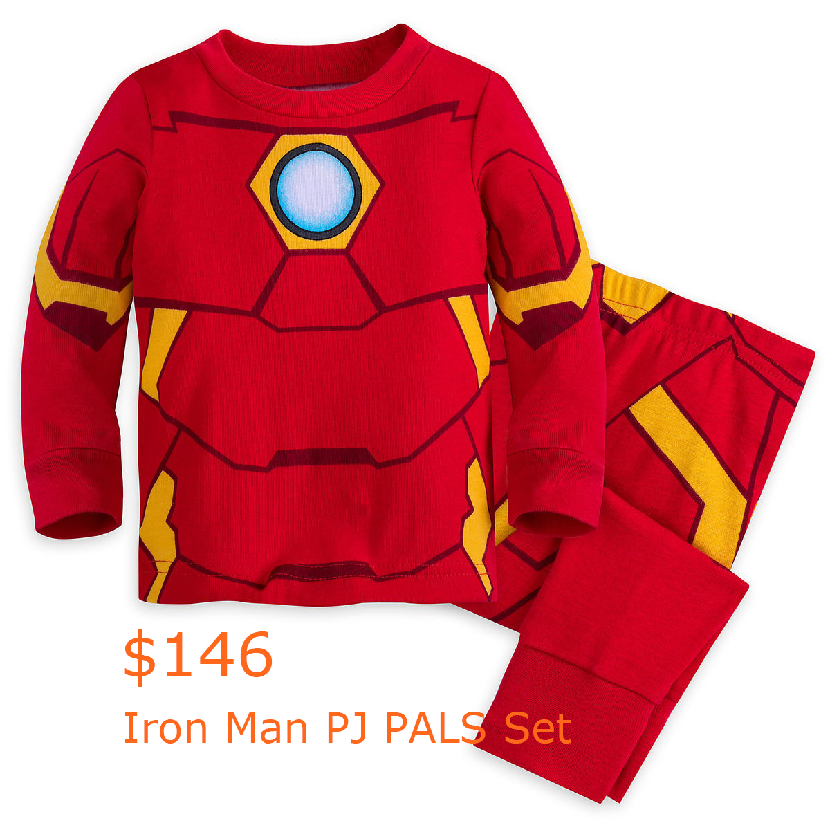 146Iron Man PJ PALS Set