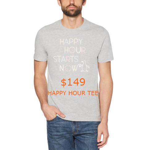 149HAPPY HOUR TEE