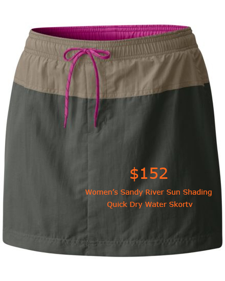 152Women's Sandy River Sun Shading Quick Dry Water Skort