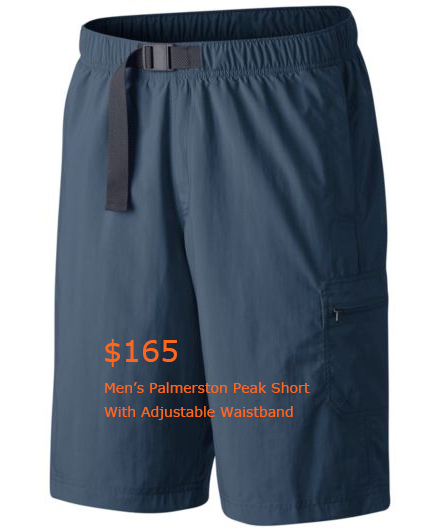 165Men's Palmerston Peak Short With Adjustable Waistband