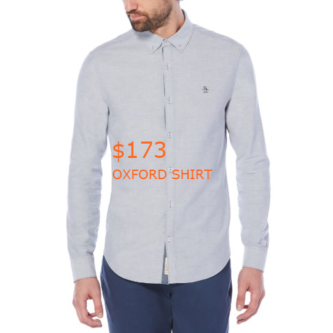 173OXFORD SHIRT