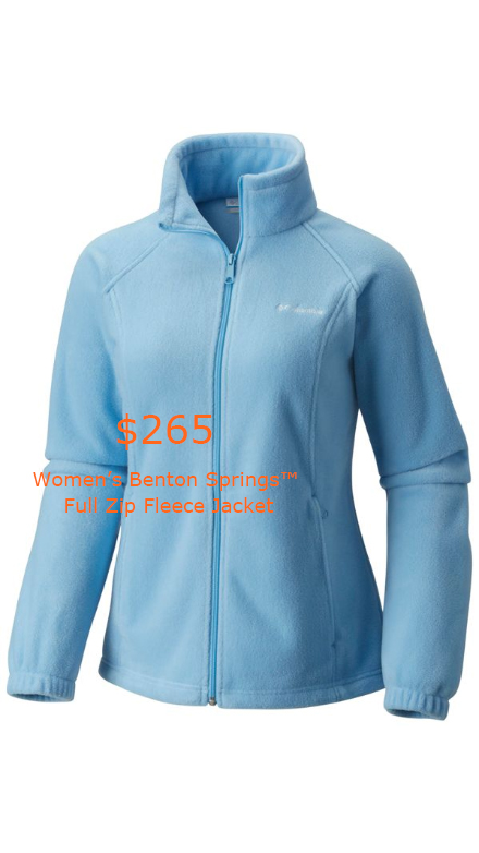 265Women's Benton Springs™ Full Zip Fleece Jacket