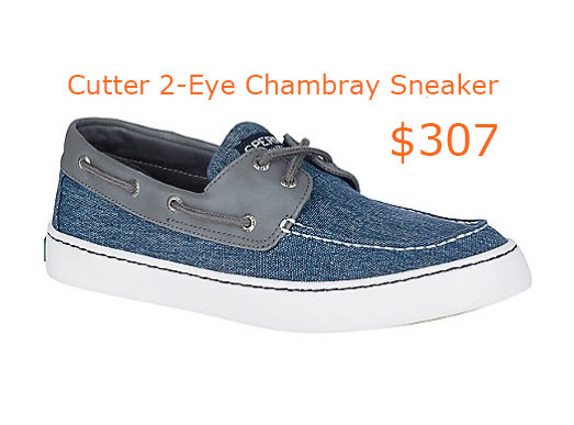 307Men's Cutter 2-Eye Chambray Sneaker