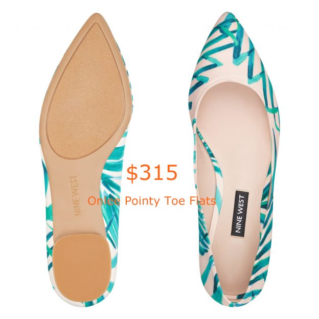 315Onlee Pointy Toe Flats