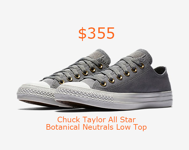 355Converse Chuck Taylor All Star Botanical Neutrals Low Top