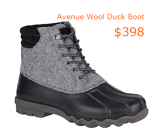 398Men's Avenue Wool Duck Boot