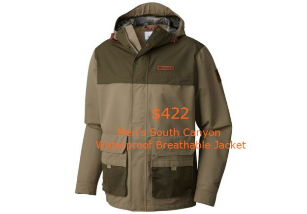 422Men's South Canyon Waterproof Breathable Jacket