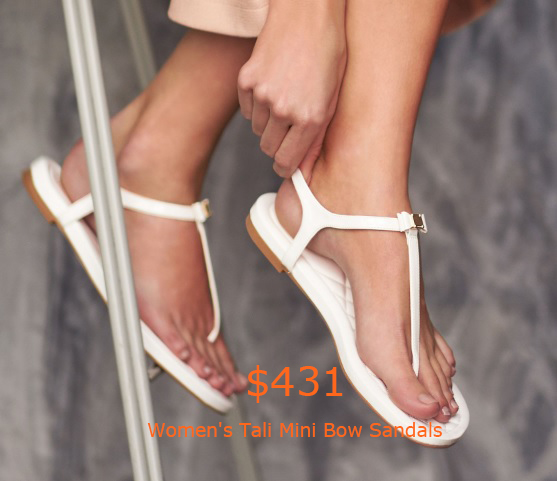 431Women's Tali Mini Bow Sandals