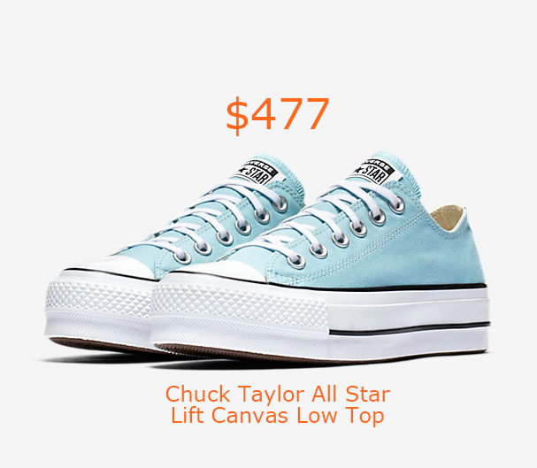 477Converse Chuck Taylor All Star Lift Canvas Low Top