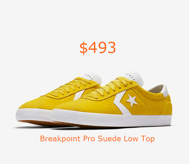 493Converse Breakpoint Pro Suede Low Top
