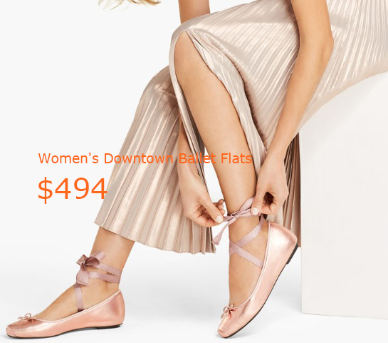 494Women's Downtown Ballet Flats