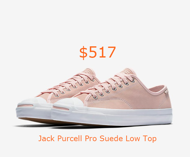 517Converse Jack Purcell Pro Suede Low Top