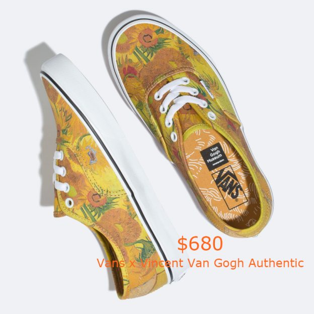 680Vans x Vincent Van Gogh Authentic