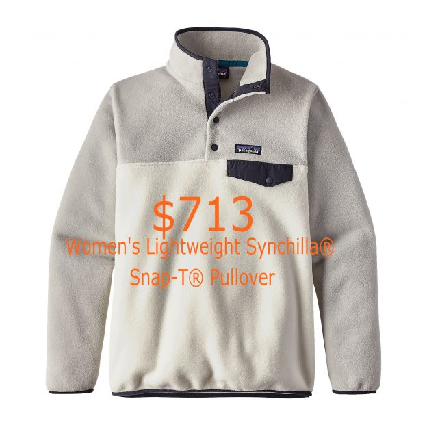 713Patagonia Women's Lightweight Synchilla® Snap-T® Pullover