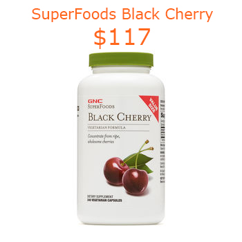 117GNC SuperFoods Black Cherry - VALUE SIZE