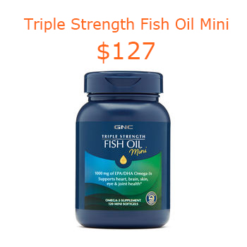 127GNC Triple Strength Fish Oil Mini