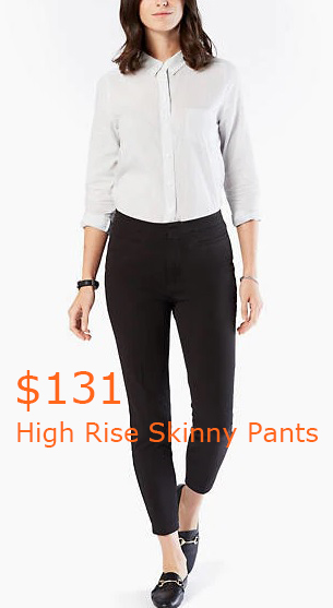 131High Rise Skinny Pants