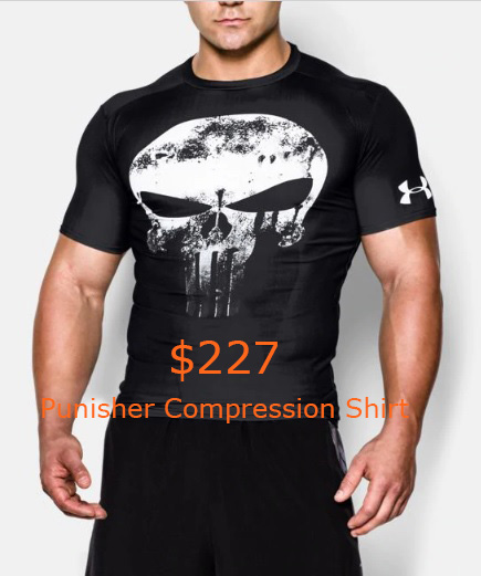 227 Punisher Compression Shirt