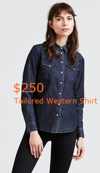 250Tailored Western Shirt