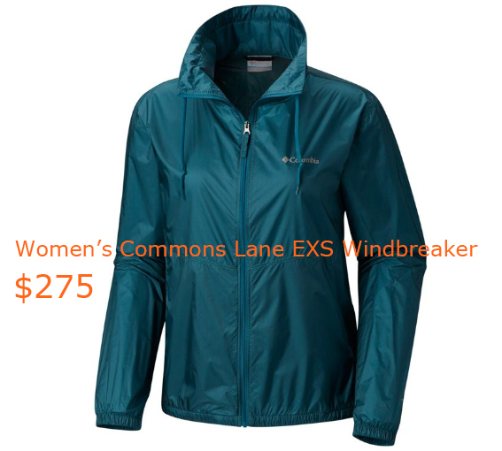 275Women's Commons Lane EXS Windbreaker