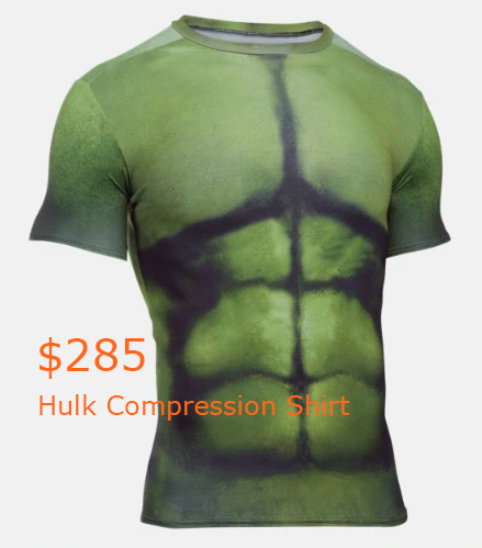 285 Hulk Compression Shirt