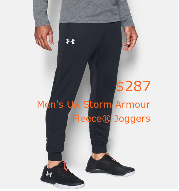 287Men's UA Storm Armour Fleece® Joggers