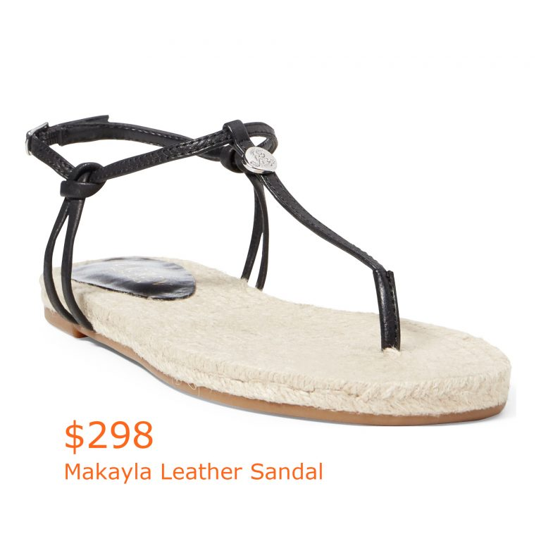 298Makayla Leather Sandal