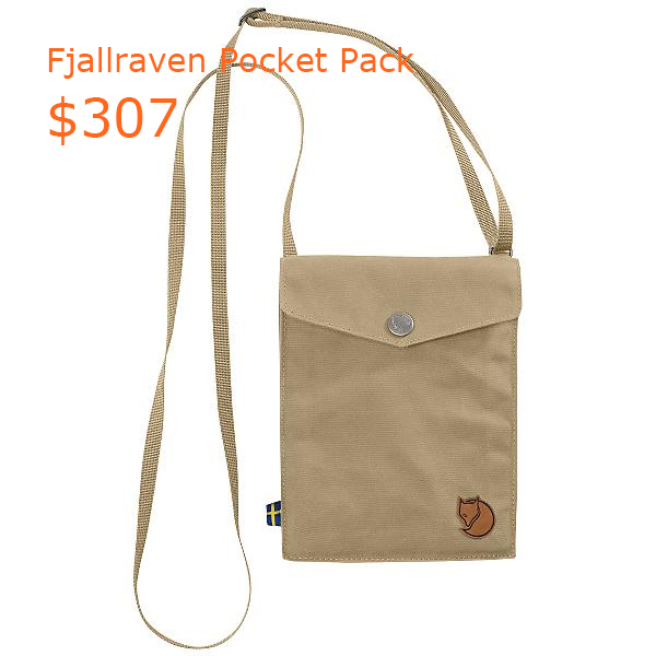 307Fjallraven Pocket Pack