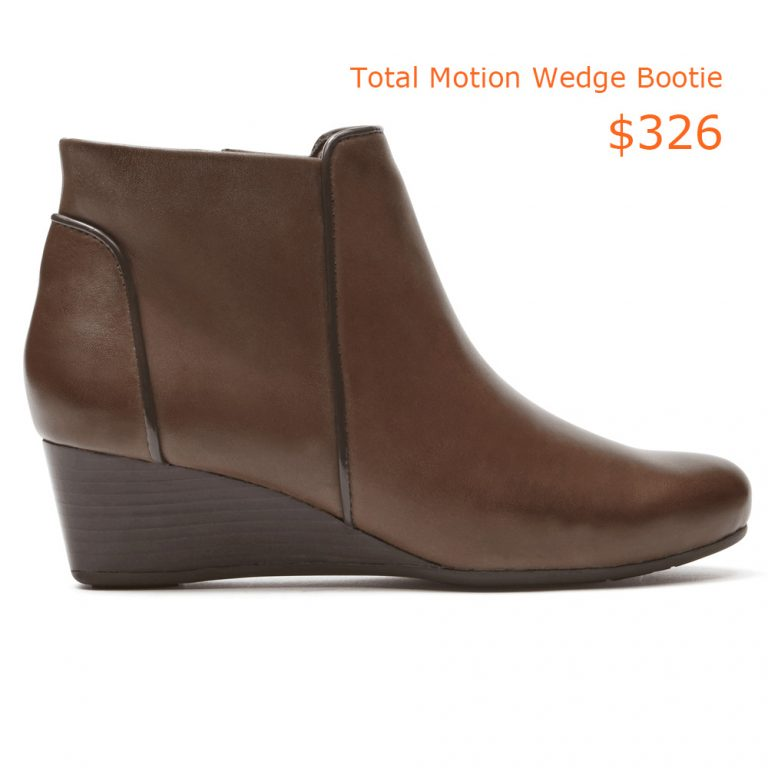 326Total Motion Wedge Bootie