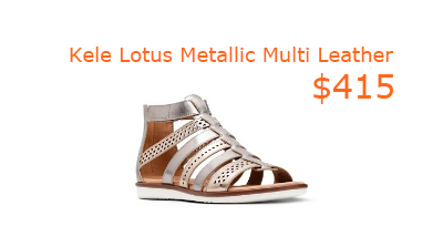 415Kele Lotus Metallic Multi Leather