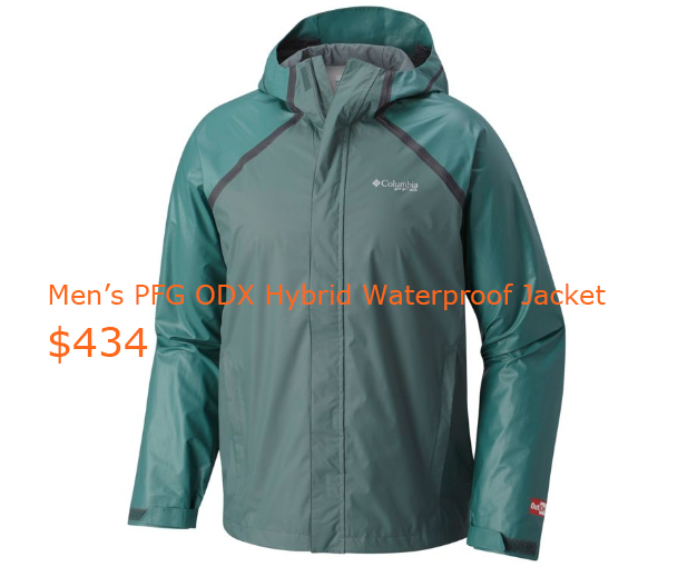 434Men's PFG ODX Hybrid Waterproof Jacket