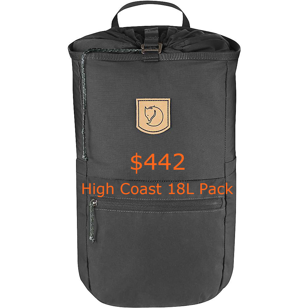442Fjallraven High Coast 18L Pack