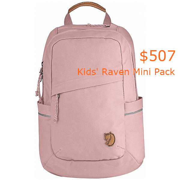 507Fjallraven Kids' Raven Mini Pack