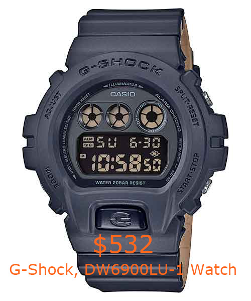 532G-Shock, DW6900LU-1 Watch