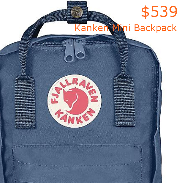 539Fjallraven Kanken Mini Backpack