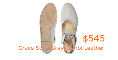 545Grace Sofia Grey Combi Leather