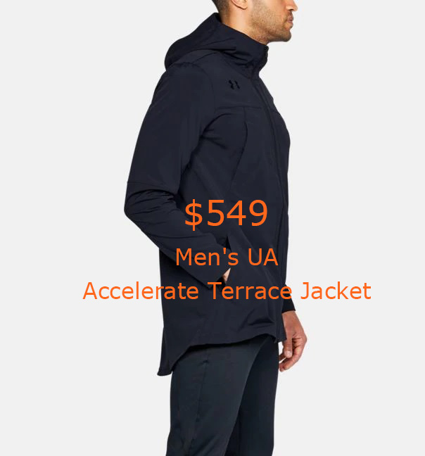 549Men's UA Accelerate Terrace Jacket