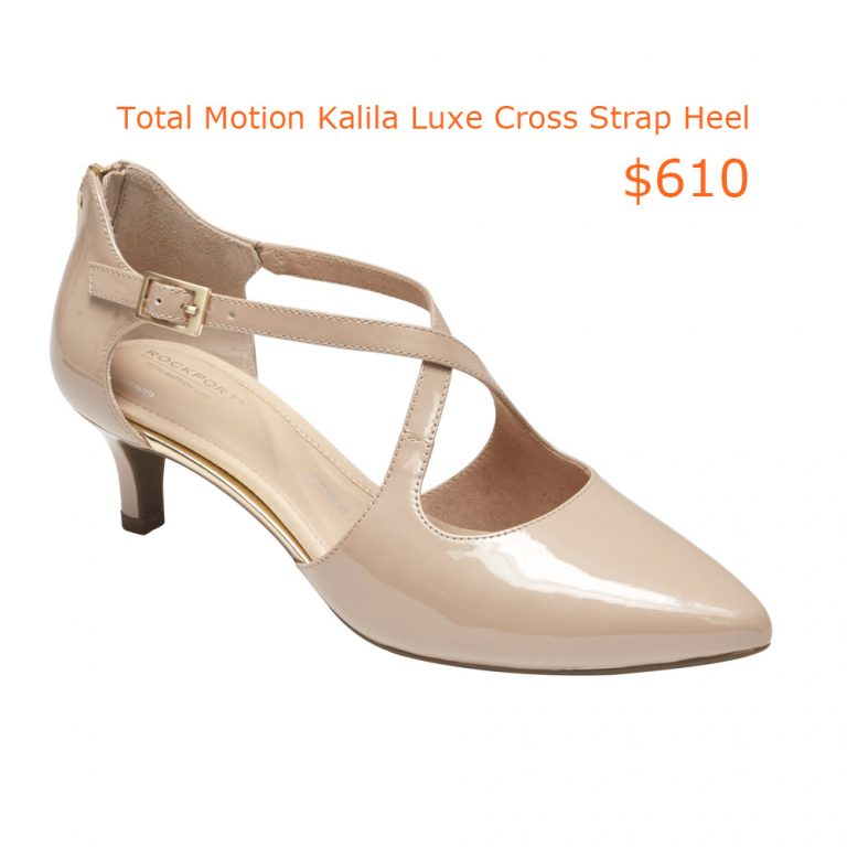 610Total Motion Kalila Luxe Cross Strap Heel