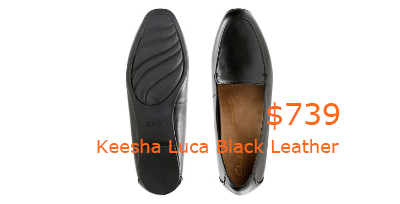 739Keesha Luca Black Leather