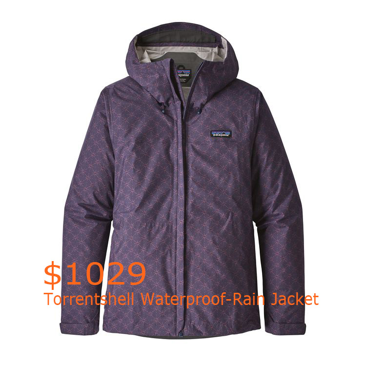 1029Patagonia Women's Torrentshell Waterproof-Rain Jacket