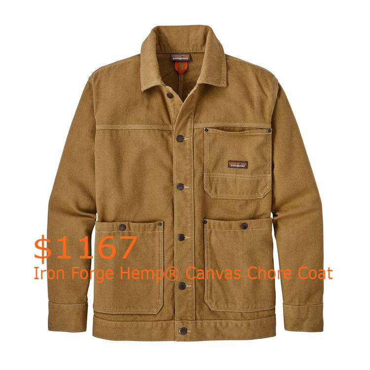 1167Patagonia Men's Iron Forge Hemp® Canvas Chore Coat