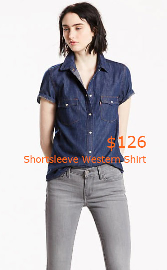 126Shortsleeve Western Shirt