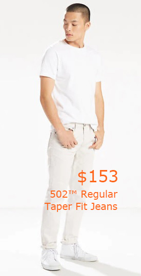 153-502™ Regular Taper Fit Jeans