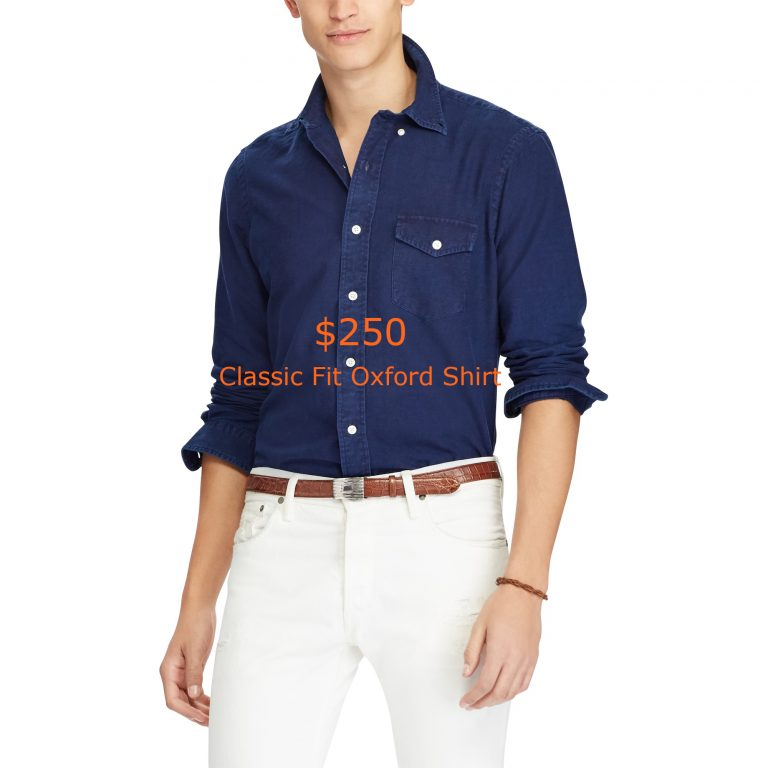 250Classic Fit Oxford Shirt