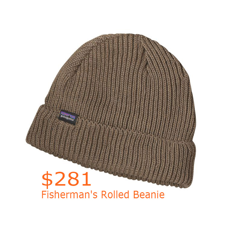 281Patagonia Fisherman's Rolled Beanie