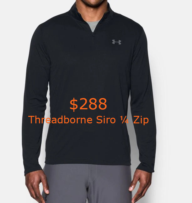 288Men's UA Threadborne Siro ¼ Zip